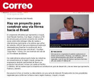 Noticia DIARIO EL CORREO